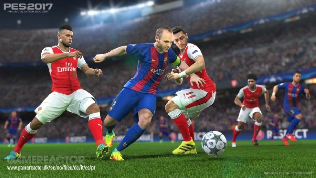 Pro Evolution Soccer 2017 Video Game
