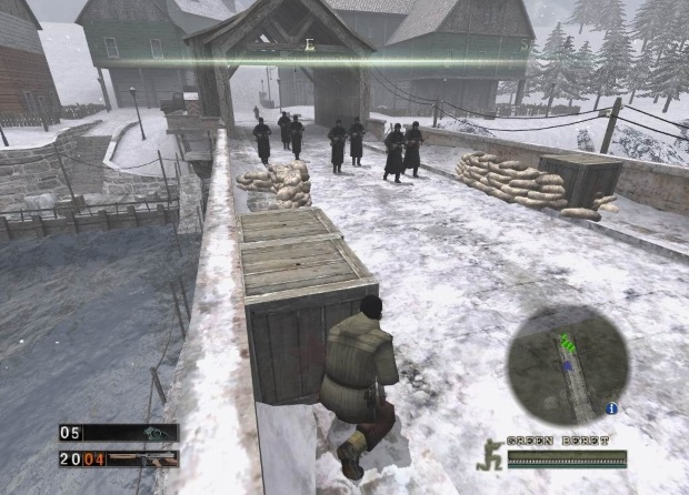 Commandos Strike Force Screenshots
