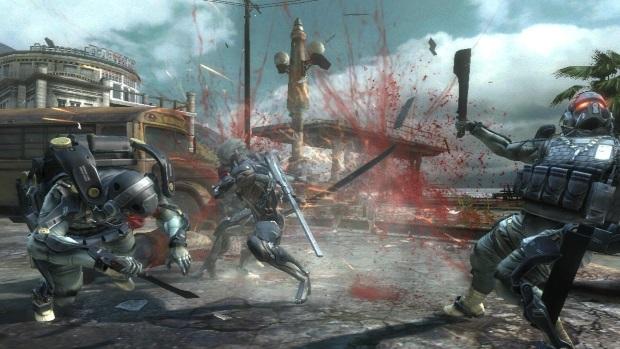 Metal Gear Rising Revengeance Video Game