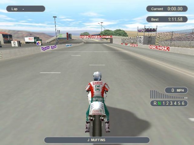 Castrol Honda Superbike Video Game