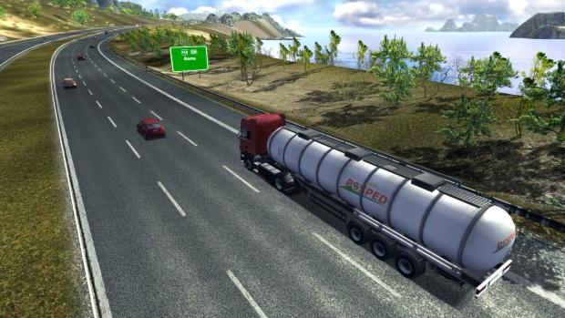 Euro Truck Simulator Video Game