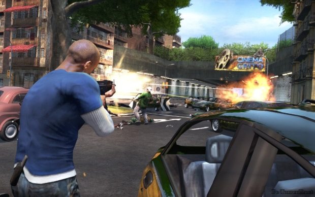 Vin Diesel Wheelman Screenshots