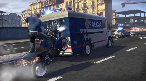 Vin Diesel Wheelman Video Game