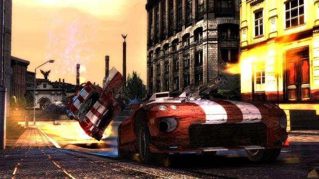 Battle Metal Street Riot Control Video Game