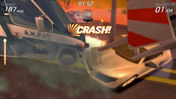 Crazy Cars Hit The Road Video Game
