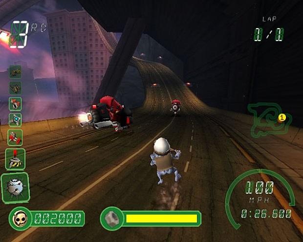 Crazy Frog Racer 2 Screenshots