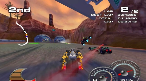 Drome Racers Video Game