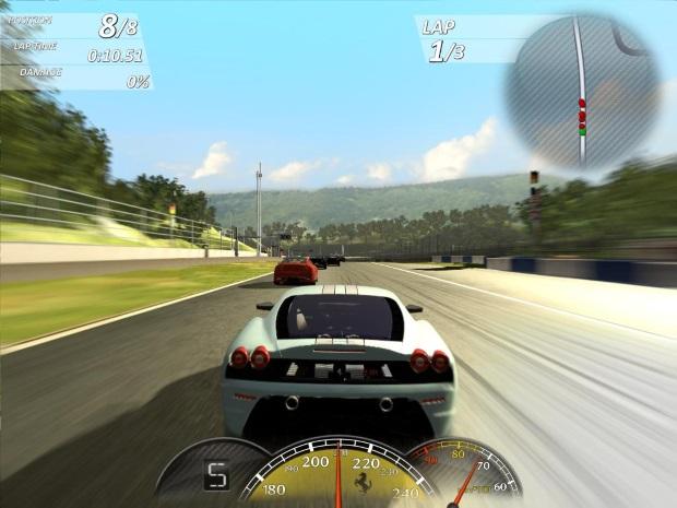 Ferrari Virtual Race Screenshots