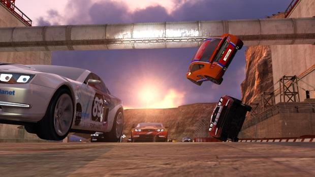 Trackmania 2 Canyon Video Game