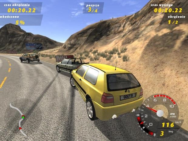 Volkswagen GTI Racing Screenshots