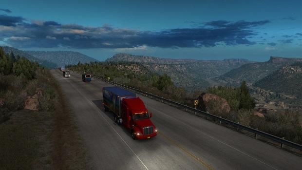 American Truck Simulator Video Game