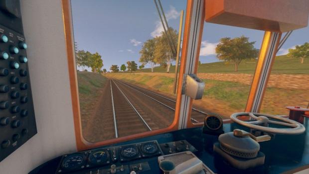 Diesel Railcar Simulator Video Game