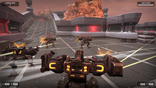 Steel Arena Robot War Video Game