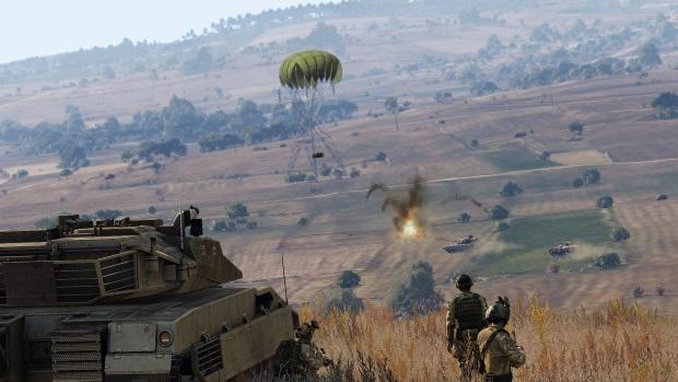 Arma 3 Tanks Video Game