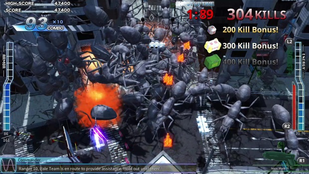 EARTH DEFENSE FORCE 4.1 WINGDIVER THE SHOOTER Video Game