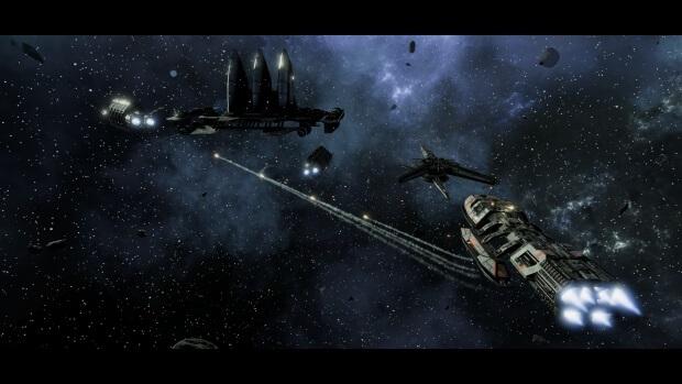 Battlestar Galactica Deadlock The Broken Alliance Screenshots