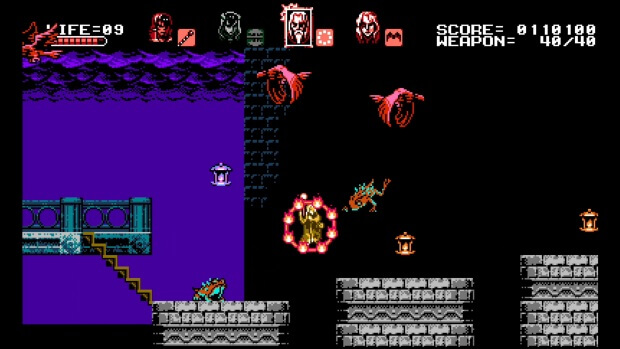 Bloodstained Curse of the Moon Screenshots