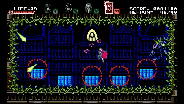 Bloodstained Curse of the Moon Video Game