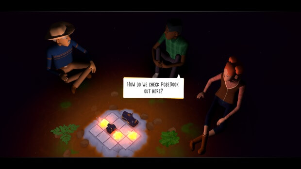 Campfire Cooking Video Game