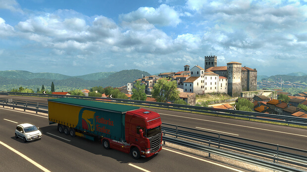Euro Truck Simulator 2 Italia Full Version