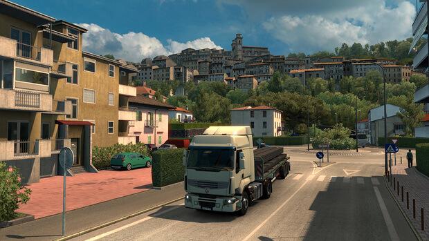 Euro Truck Simulator 2 Italia Screenshots