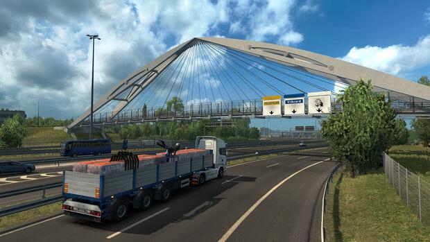 Euro Truck Simulator 2 Italia Video Game
