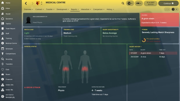 Football Manager 2018 Video Game