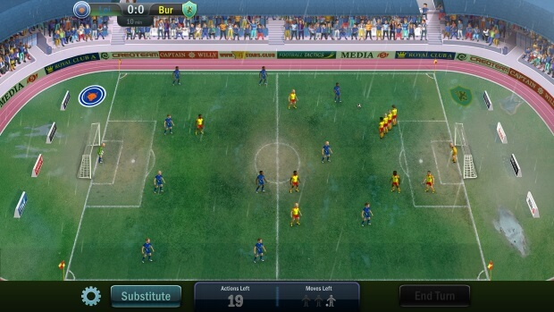Football Tactics and Glory Video Game