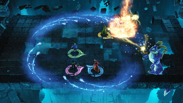 Nine Parchments Astral Challenges Video Game