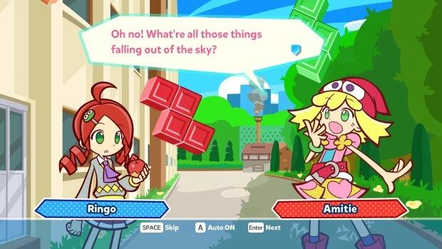 Puyo Puyo Tetris Video Game