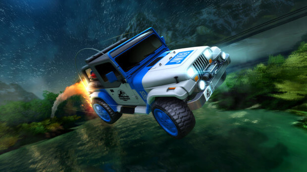 Rocket League Jurassic World Car Pack Full Version