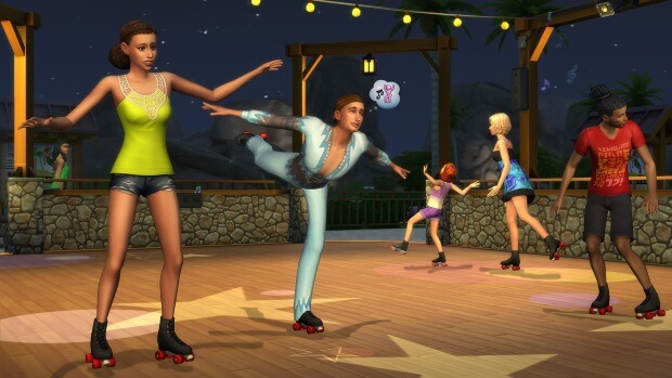 The Sims 4 Seasons Video Game