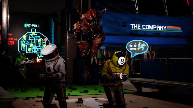 Unfortunate Spacemen Video Game