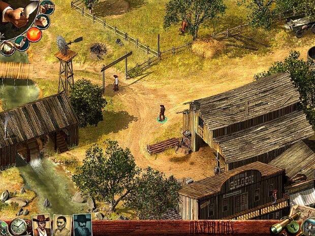 Desperados Wanted Dead or Alive Re modernized Video Game