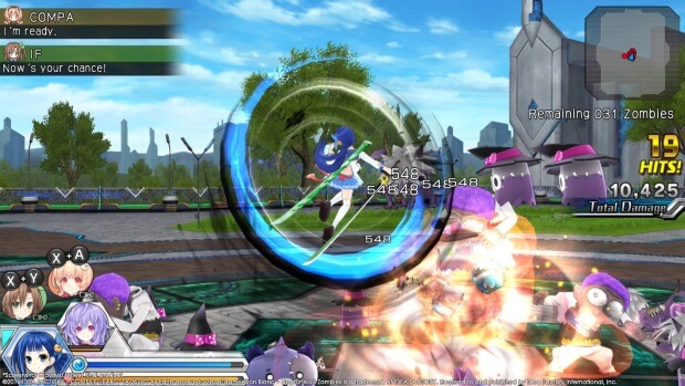 MegaTagmension Blanc Neptune VS Zombies Neptunia Full Version