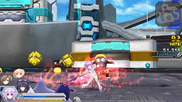 MegaTagmension Blanc Neptune VS Zombies Neptunia Screenshots