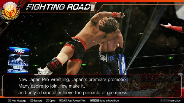 Fire Pro Wrestling World New Japan Pro Wrestling Collaboration Screenshots