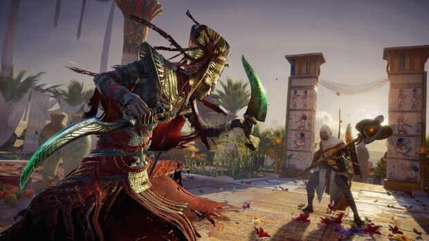 Assassins Creed Origins The Curse of the Pharaohs Video Game
