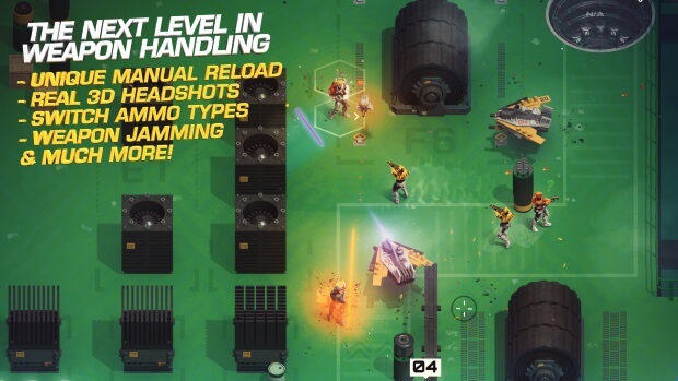 SYNTHETIK Legion Rising Video Game